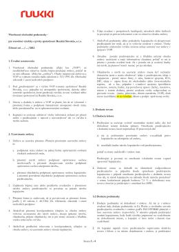 Všeobecné obchodné podmienky RUUKKI (pdf, 139KB)