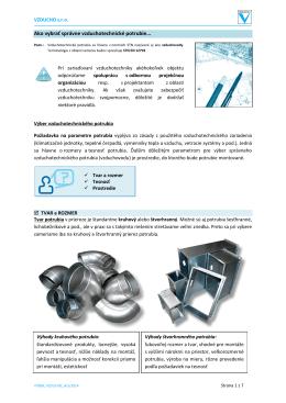 Ako vybrať správne vzduchotechnické potrubie