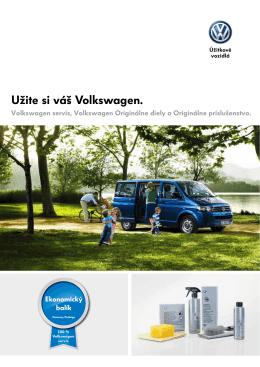 Užite si váš Volkswagen.