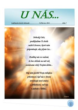 Veľká noc 2014 (číslo 7) - Farnosť Ladce