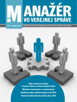 VO VEREJNEJ SPRÁVE - Forum Media SK Forum media