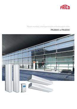 Vzduchové clony PA3500/4200