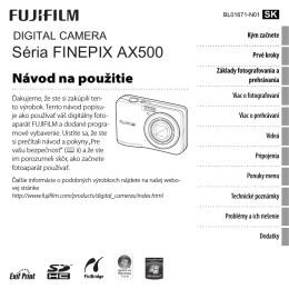 FINEPIX AX500 Series