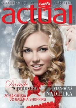 magazín actual - Obchodné Centrum Galéria Shopping Košice
