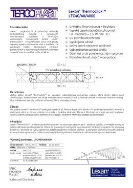 Lexan* ThermoclickTM LTC40/4X/4000