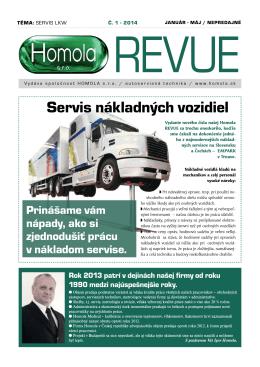 Téma: Servis nákladných vozidiel