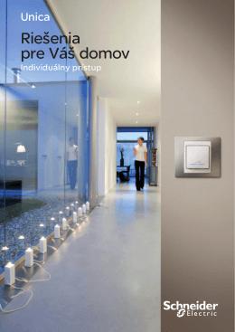 Riešenia pre Váš domov - Elektronický katalog Schneider Electric