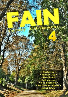 FAIN 4 - Farnosť Špačince