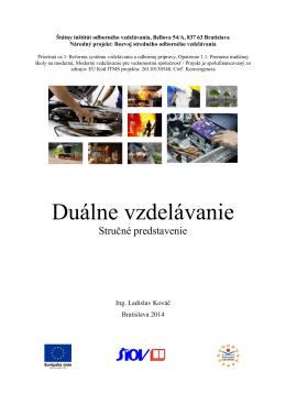 Duálne vzdelávanie - Stredná odborná škola Pruské