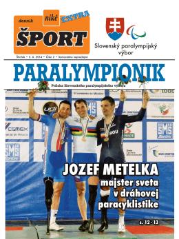 ZPH 2014 - Slovenský paralympijský výbor