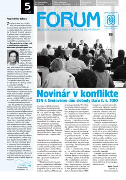 5 - Slovenský syndikát novinárov