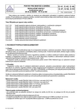 PM 038 RV G40 až G93 SK