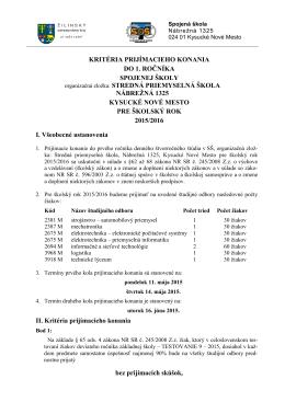 odkaz pdf - Spojená škola