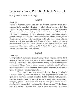 História - Pekaringo