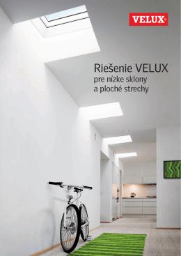 Riešenie VELUX pre plochej strechy [PDF; 2,9 MB]