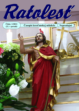 Časopis kresťanskej mládeže Nepredajné