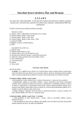 Smernica 12 - SBD Žiar nad Hronom