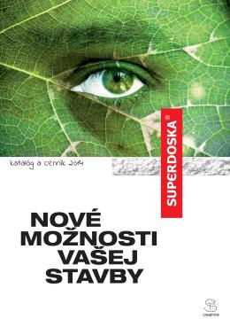 PDF katalóg - SUPERDOSKA Nitra