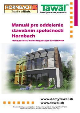 Manuál pre stavebniny Hornbach SK