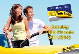 Katalóg Club Premio 2011/2012