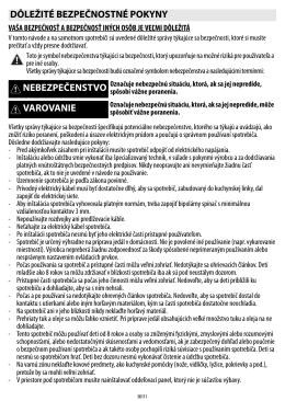Návod pre Whirlpool ACM 802/NE
