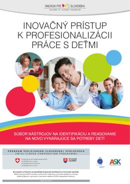 Inovačný prístup k profesionalizácii práce s deťmi