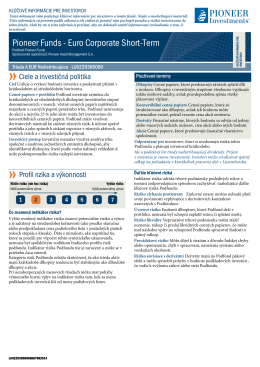 KIID - Pioneer Investments