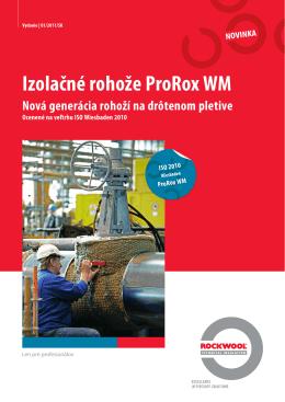 Technický list ProRox WM