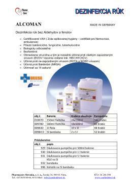 ALCOMAN - pharmacare.sk