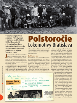Polstoročie Lokomotívy Bratislava