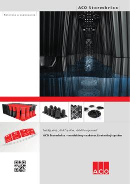 ACO Stormbrixx - ACO stavebné prvky sro
