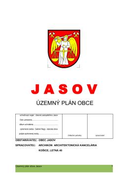 Stránka obce Jasov