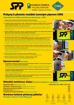 Plniaca stanica CNG Bratislava - Jurajov Dvor