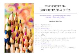 psychoterapia, socioterapia a dieťa