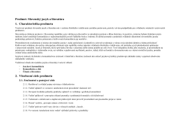 Slovenský jazyk a literatúra 5. ročník – autor Mgr. A. Zelená