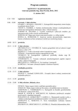 Program seminára