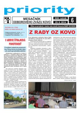 Jún - OZ KOVO
