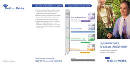 MoliCare Mobile - Informácie pre pacientov