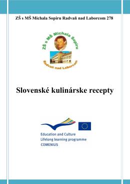 Publikácia: Slovenské kulinárske špeciality