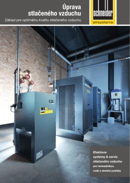 6) Schneider - úprava stlačeného vzduchu