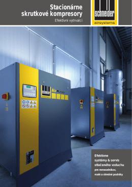 Stacionárne skrutkové kompresory (PDF)