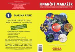 FINANČNÝ MANAŽÉR - Slovenská asociácia podnikových finančníkov