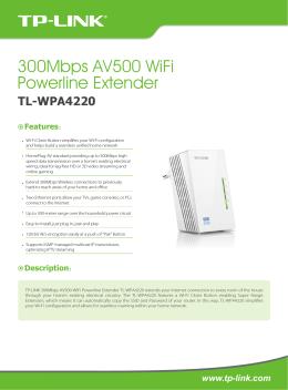 TL-WPA4220(EU) - TP-Link