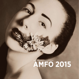 amfo 2015 katalóg - Krajské osvetové stredisko v Nitre