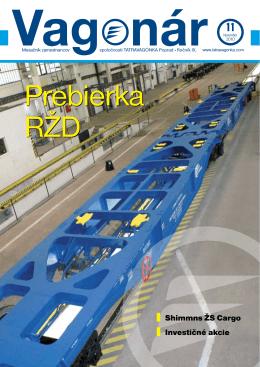 Shimmns ŽS Cargo Investičné akcie