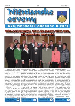 Nižnianske ozveny 1/2011 PDF 8,6 MB