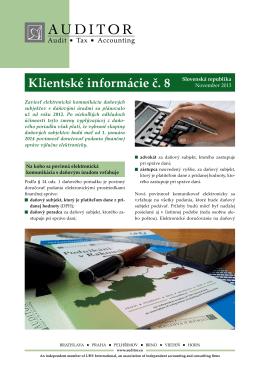 Elektronická komunikácia s daňovými úradmi povinne od 1
