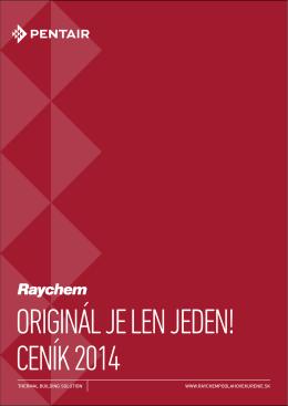 Kompletný cenník RAYCHEM