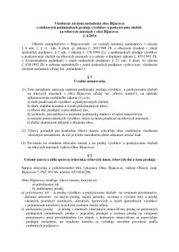 VZN č. 6/2014 - Obec Bijacovce