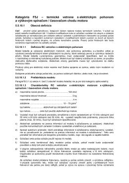 F5J-FAI pravidlá (SVK preklad od Pavla Barbariča)